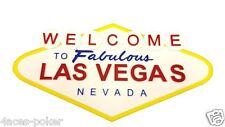 Poker Las Vegas Schild Casino Dekoration Bild Sign Acryl 3D Buchstaben Wandbild