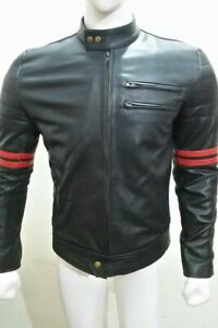 New Leather Motorbike/ Motorcycle Jacket with CE Armour Protections