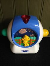 Retro Tomy 1999 Collectable Musical Cot Toy with Projector for Baby - rare