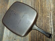 "Wagner Stylized Logo 9"" Cast Iron Square skillet, #1218, restored"