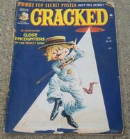 Cracked Magazine #150 May 1978  Close Encounters movie UFO humor comedy comic