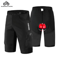 MTB Cycling Bike Shorts Padded Short Pants Baggy Off Road Loose Fit Shorts