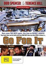 GO FOR IT - Region 2 Compatible DVD (UK seller!!!) Terence Hill, Bud Spencer NEW