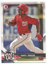 Daniel Johnson Washington Nationals 2018 Bowman Baseball Prospects Card