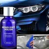10ml 30ml Car Beauty Brighten Scratch Repair Coating Headlight Polishing FluidAU