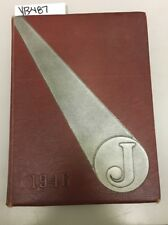 YB487 Jersey Township High School The J 1946 yearbook Jerseyville IL