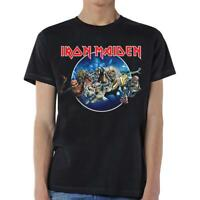 OFFICIAL LICENSED - IRON MAIDEN - WASTED YEARS T SHIRT METAL EDDIE