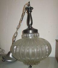 Hängelampe - Deckenlampe Glas-Lampenschirm Hängeleuchte