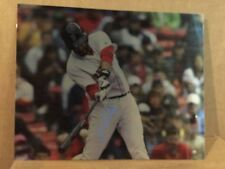 "JD Martinez signed 16x20 ""Printed on 70 mil of metal"" only one ever signed"