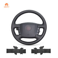 Hand Stitched Artificial Leather Steering Wheel Cover for Kia Borrego 2008-2015