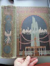 4 Bd. in 2 Bücher Tausend un eine Nacht Arabische Erzählungen ca. 1890