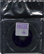 CD MUSE Sing for absolution promo static shield bag 2 tracks