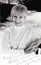 WENDY CRAIG EARLY HAND SIGNED & DEDICATED PROMO PHOTOGRAPH 5.5 x 3.5