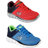 Kids Boys Skechers 97375L EQUALIZER 2.0 POST SEASON Memory Foam Shoes Sneakers