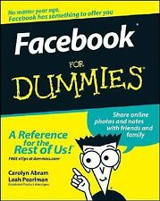 Facebook For Dummies (For Dummies (Computers)), Pearlman, Leah, Abram, Carolyn,