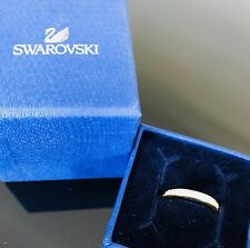 **BARGAIN** *Genuine* Svarowski Eternity Ring Size 48