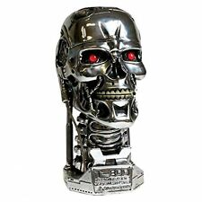 Large 21cm Terminator 2 Head Box Figure Home Collectible Skull Storage  Decor