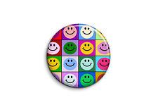 Smileys - Pop art 1 - Badge 25mm Button Pin