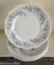 "WEDGWOOD ""ANGELA"" 8""/20cm SCALLOPED PLATES - SET OF 6 (SIX) THE BARLASTON COLL'N"