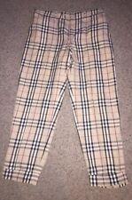 Used Burberry Nova Check Mens Pants Trousers Size 36