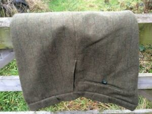 Barbour wool tweed breeches Fully lined Hunting shooting stalking FINAL price