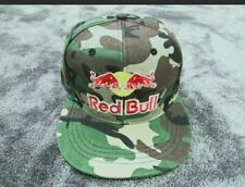 NEW! Rare Red Bull Sports Athlete Hat Camouflage Snap Back