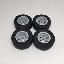 Light Bluish Gray Wheel 30.4mm D 56145 NEUF LEGO x 2 x 20mm