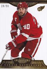 13-14 Dominion Henrik Zetterberg /50 GOLD Base Red Wings