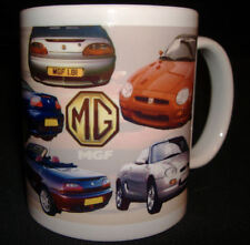 MGF SPORTS CLASSIC CAR MUG. LIMITED EDITION COLLECTORS GIFT ADD REG NUMBER FOC *