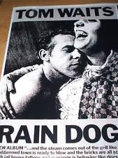 Tom Waits Raindogs Poster