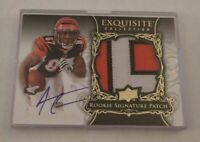 ANDRE CALDWELL - 2008 EXQUISITE - LOGO ROOKIE AUTO PATCH - #125/199 - BENGALS
