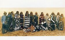 Indians with Blankets•Art by Bob Wade•Photo Notecard 5x7 New Mexico