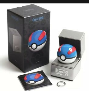 🔥Pokémon ~ Replica Great Ball ~ Die-Cast Metal  ~ Electronic Poke Ball NEW RARE
