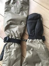 Moncler Guanti 3/4 Arm Length Leather Grip Mittens Italy Small
