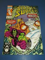 Silver Surfer, #47, VF/NM 9.0, Thanos, Infinity Gauntlet/Infinity War/Endgame