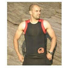 Sleeveless 2mm X-Stretch neoprene rash vest. LARGE. wear under wetsuit or alone