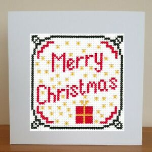 Christmas Card - Cross Stitch Kit