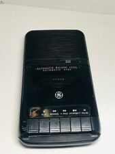New listing General Electric GE Tape Cassette Recorder 3-5025A Untested