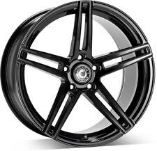 """Alloy Wheels 19"""" Wrath WF1 Black Gloss For VW Golf R32 [Mk5] 05-10"""