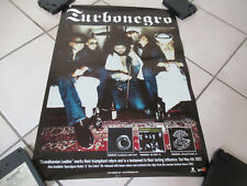 VINTAGE TURBONEGRO SCANDINAVIAN LEATHER RECORD RELEASE PROMO POSTER