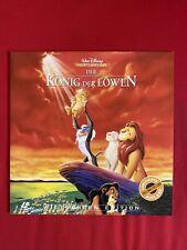 Laserdisc König der Löwen Walt Disney  / PAL / deutsch
