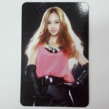 SNSD K-POP Girls' Generation SONE Original Limited YURI Photocard 1p Official