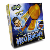 Surge Stomp Action Heli Rocket Great Outdoor Family Garden Game Launcher Launch