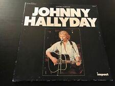 DISQUE VINYLE 33T : johnny hallyday coffret 3 disques impact