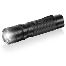 ANSMANN Agent 1 Focus Flashlight, Super Bright, LED High Lumen, 1600-0052