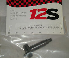 DYNAMITE ENGINES RC MODEL CAR PLANE BOAT PARTS DYN6525 PS CUT-CRANKSHAFT 12S SPD