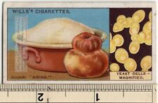 Yeast Fermentation Spores Cooking 90+ Y/O Ad Trade Card