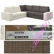 IKEA KIVIK Corner Section (Sectional) Cover Slipcover TULLINGE GRAY BROWN Sealed