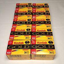 10x Kodak Gold 100 Film 135 - 36 Kleinbild Farbfilm Foto Photo Lomo FROZEN! rare