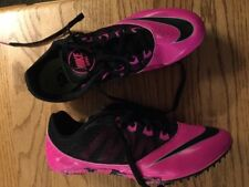 Nike Rival S Racing Sprint Pink Black Cleats (not Included) Sz 8 New